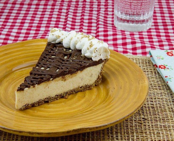 Salted Brown Butter Pie w/ Pecan Crust & Ganache / @DJ Foodie ...