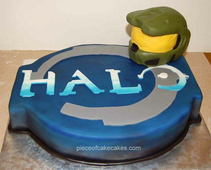Halo Cake  cakepins.com