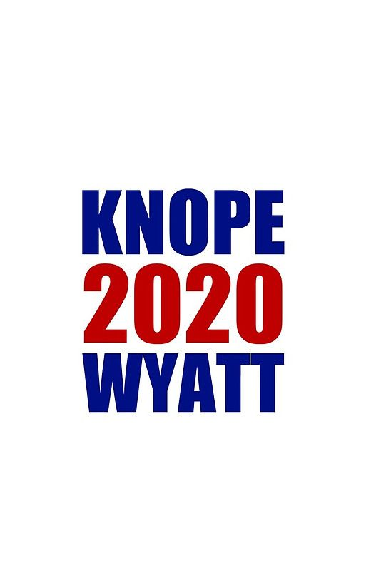 Knope Wyatt 2020 - Parks and Recreation