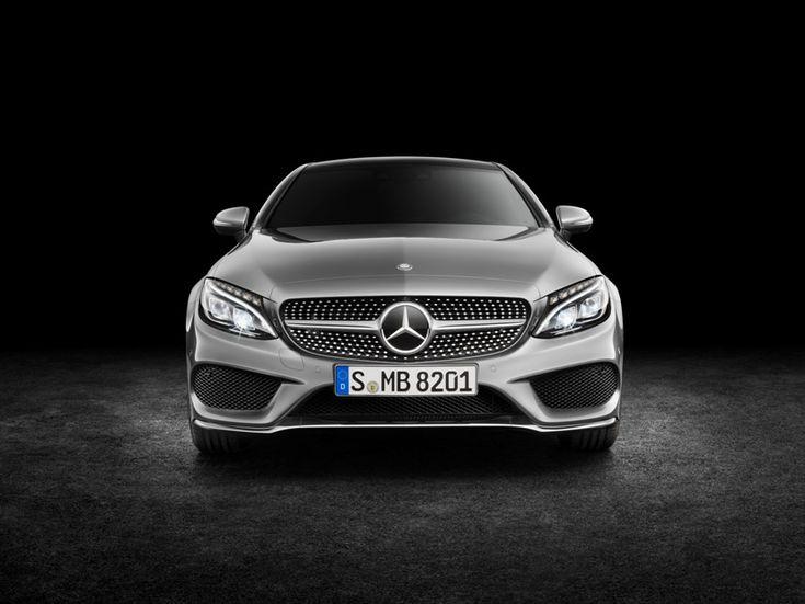Mercedes-Benz C300 C-Class 2017 black background