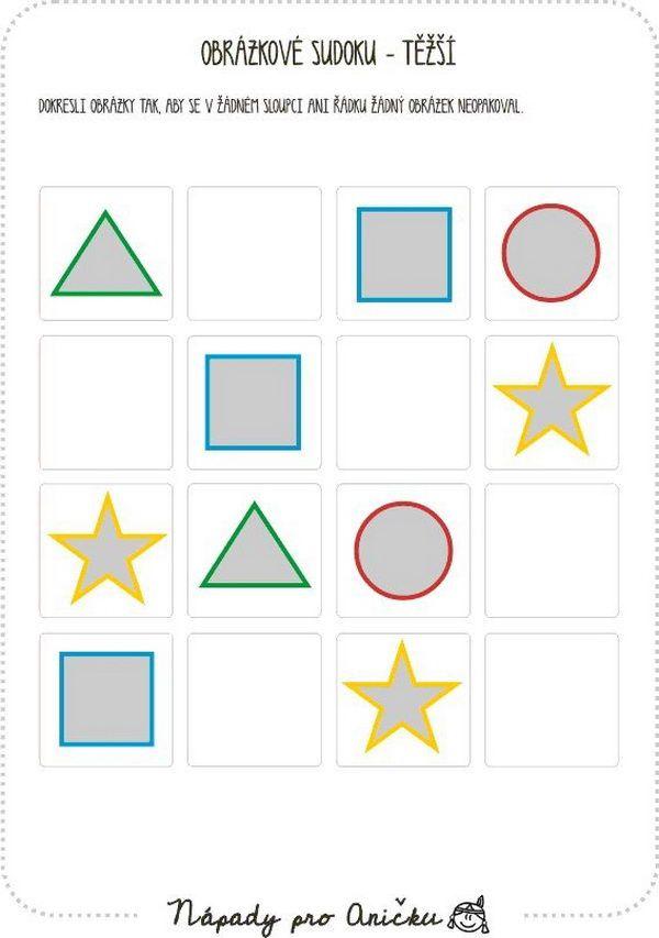 Obrázkové sudoku III.