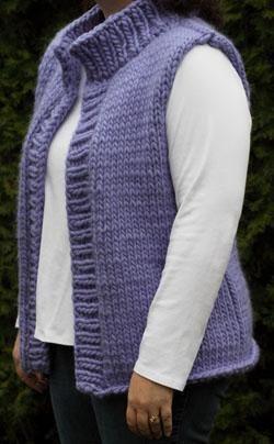 Super Bulky Winter Vest (Plus sizes)