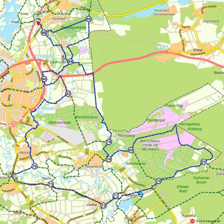 Fietsroute: Fietsen door het NP Meinweg (http://www.route.nl/fietsroutes/140239/Fietsen-door-het-NP-Meinweg/)