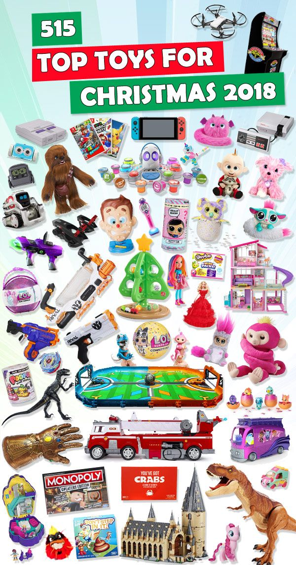 Top Toys For Christmas 2018 | Christmas Gifts | Christmas toys ...