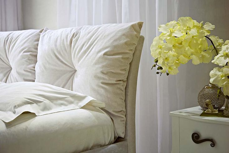 Мягкая спинка кровати Аккра