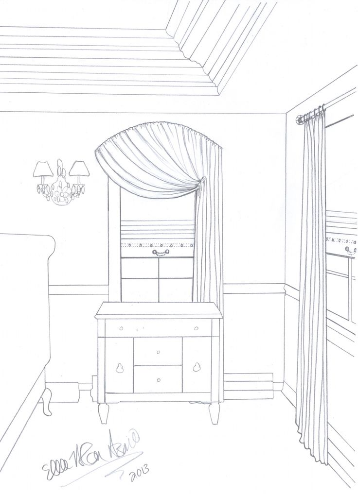 Drawing...Exquisite Transitional Style... www.TradeMartInteriors.com