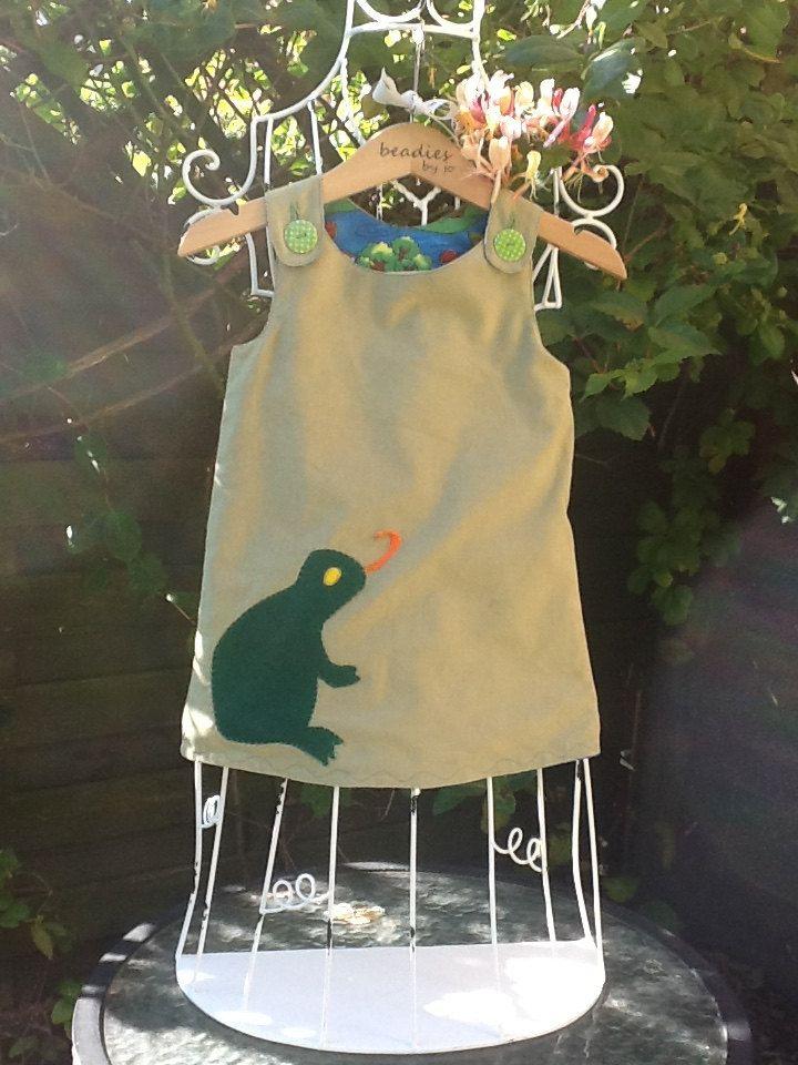 Reversible Dress by beadiesbyjo on Etsy