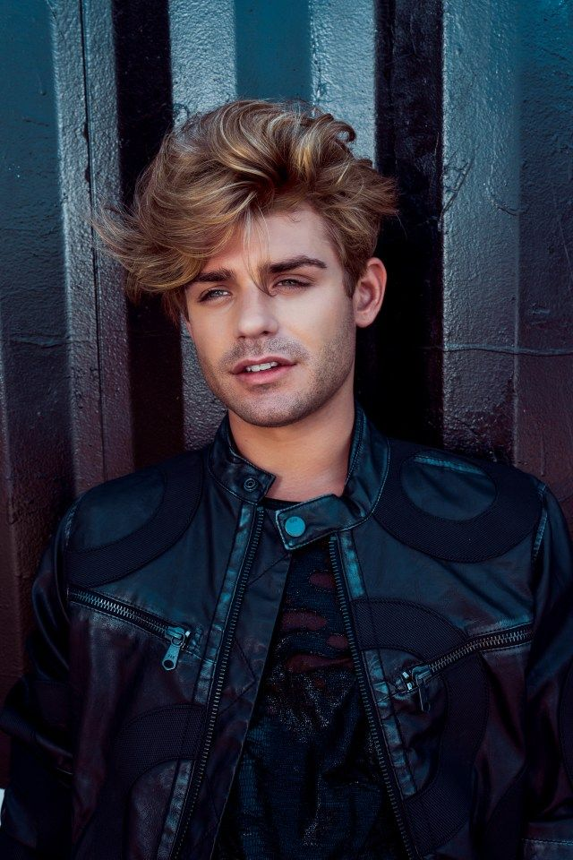 Garrett Clayton / Jacket - G Star Raw Shirt - Gold Leaf