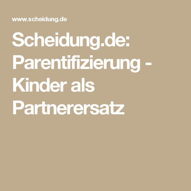 Scheidung.de: Parentifizierung - Kinder als Partnerersatz