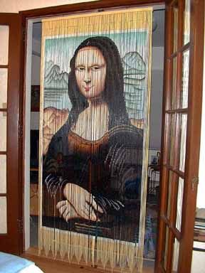17 best images about monas on pinterest miami dade for Mona lisa shower curtain