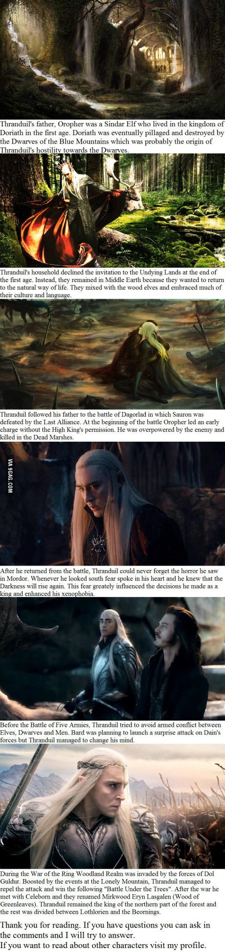 6 Thranduil facts you may not have known                                                                                                                                                                                 Plus