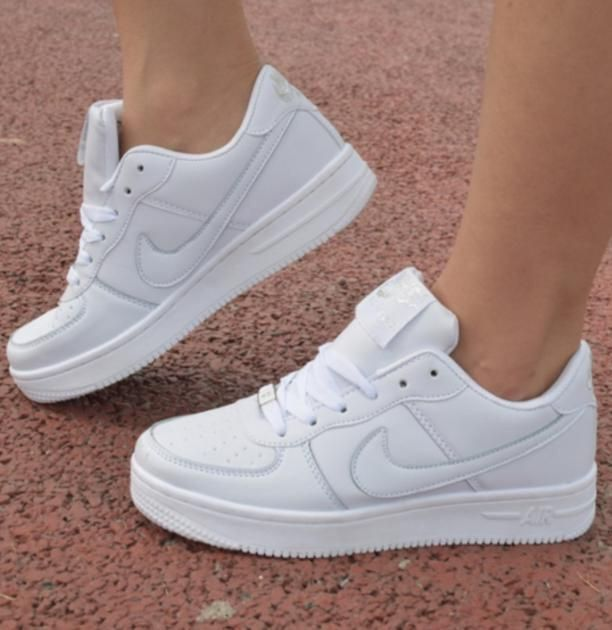 zapatos blancos mujer nike