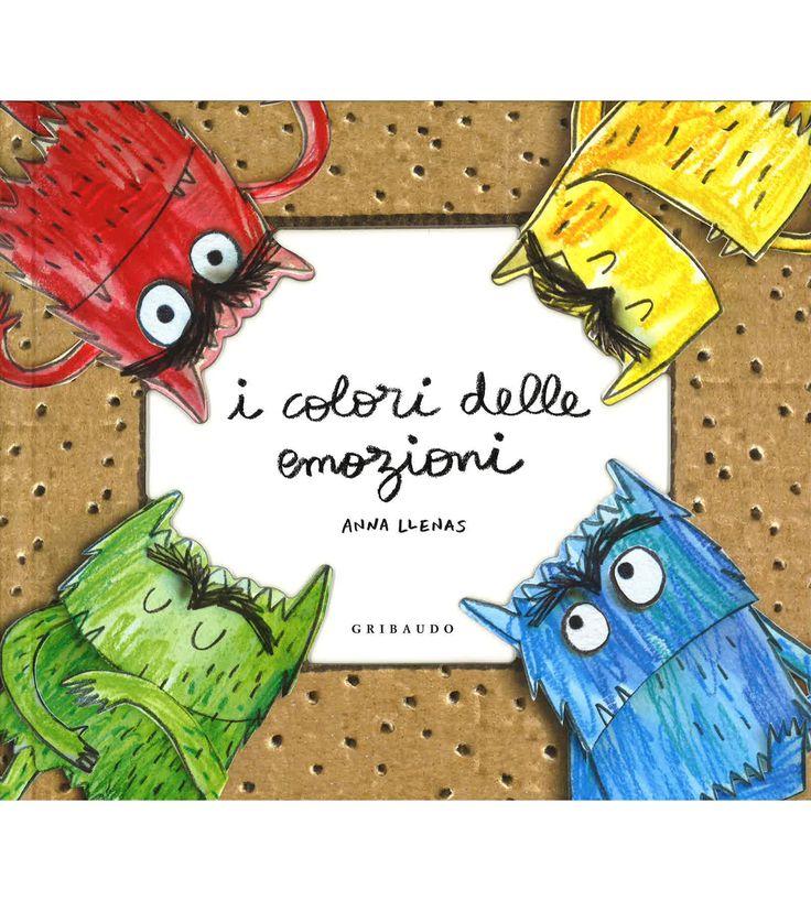 Foto Cover di I colori delle emozioni. Libro pop-up, Libro di Anna Llenas, edito da Gribaudo