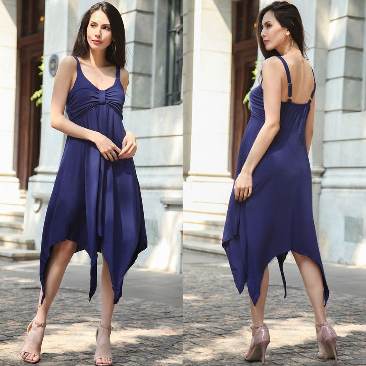 Find More Dresses Information about MILLYN European irregular women's boutique dress 2017 spring summer dress Casual Female Clothing Evening Party Midi Dress,High Quality summer dress,China midi dress Suppliers, Cheap summer dresses casual from Millyn Store on Aliexpress.com