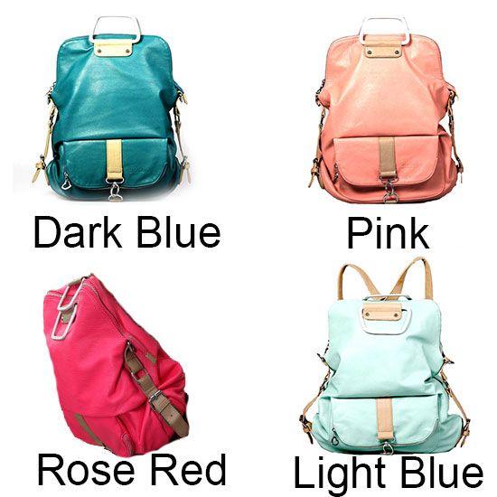 Unique Fresh Multifunction Backpack And Handbag Shoulder Bag 53