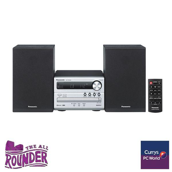 #PassionatePins The all rounder - Panasonic HiFi http://www.currys.co.uk/gbuk/audio/hi-fi-speaker-docks/hi-fi-systems/panasonic-sc-pm250eb-s-traditional-hi-fi-system-silver-10004629-pdt.html?cmpid=social~pinterest~i~ecaudio