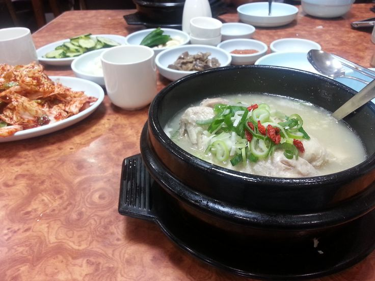When you think of summer foods, what kind of foods come to mind? Perhaps you think of summer salads, fruits, such as watermelons and apples, sushi or other tasty treats like ice cream, smoothies or milkshakes. Now, think of the hottest day in the year? What would you like to eat? How about some Samgyetang (삼계탕)? Did you know that in Korea many Koreans enjoy eating Samgyetang in summer? You might be asking, what is this Samgyetang you're talking about? Samgyetang is a boiling hot, summer…