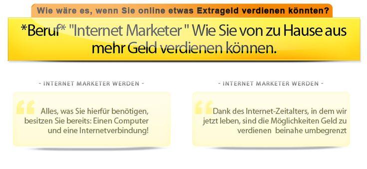Das 1 x 1 des kleinen Erfolges. Einfach und verstaendlich erklaert! Internet Marketer - Ein Beruf