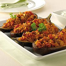 Aubergines farcies weight watchers