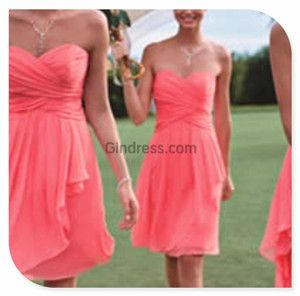 Bridesmaid Dress, Bridesmaid Dresses love this one!!!!!! Maybe some w straps or one shoulder! !!!!!!!  These would be SO cute as cobalt blue with pink heels!
