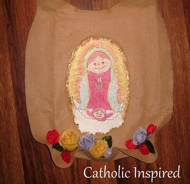 94 best our lady of guadalupe for children images on for Our lady of guadalupe arts and crafts