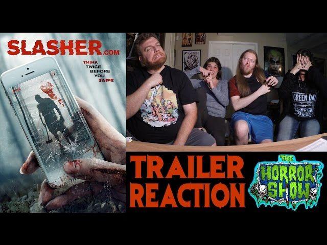 """""""Slasher.com"""" 2017 Horror… https://www.hauntersweb.com/spider-sites/horror-show/slashercom-2017-horror-movie-trailer-reaction-horror-show"""