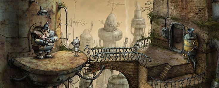 Machinarium | by Amanita Design, a small independent game developing studio based in Czech Republic