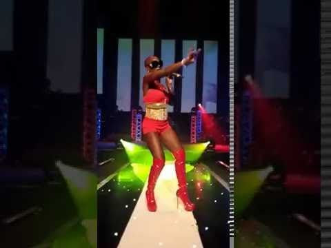 UK/Jamaican Recording Artist Chyna Whyne LIVE Performance @ the Movie, Video & Screen Awards 2016 - ICC Arena Birmingham October 29th 2016 - Walking In Stilettos