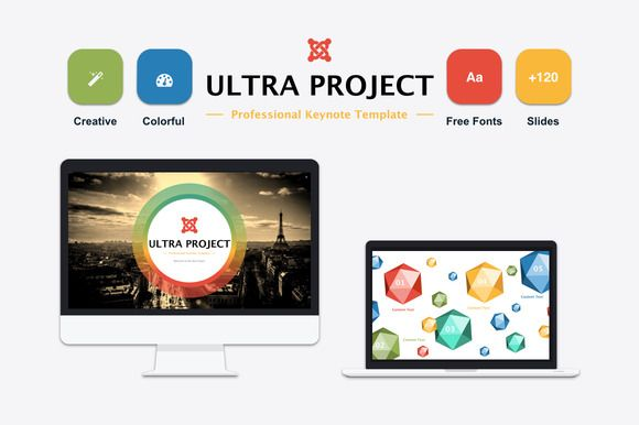 Ultra Keynote Template by Mia on Creative Market