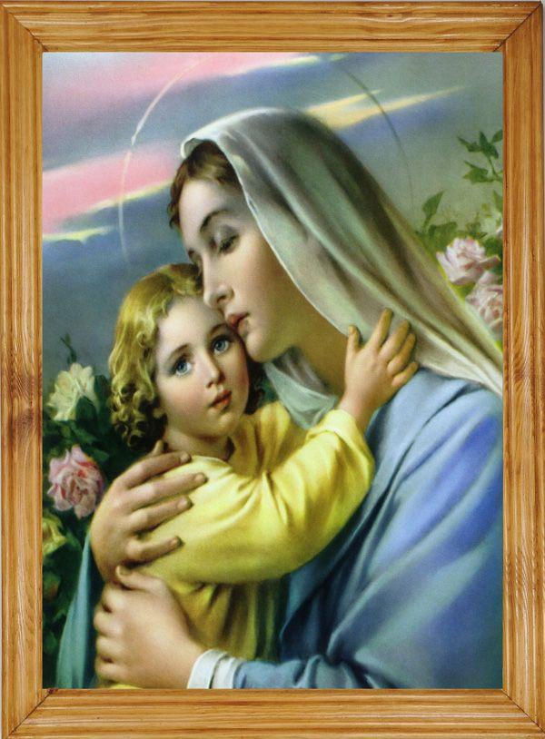 #DZIECIĄTKO #JEZUS I #MARYJA