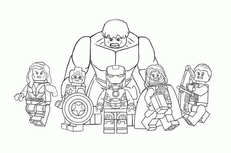 malvorlagen lego avengers  superhelden malvorlagen lego