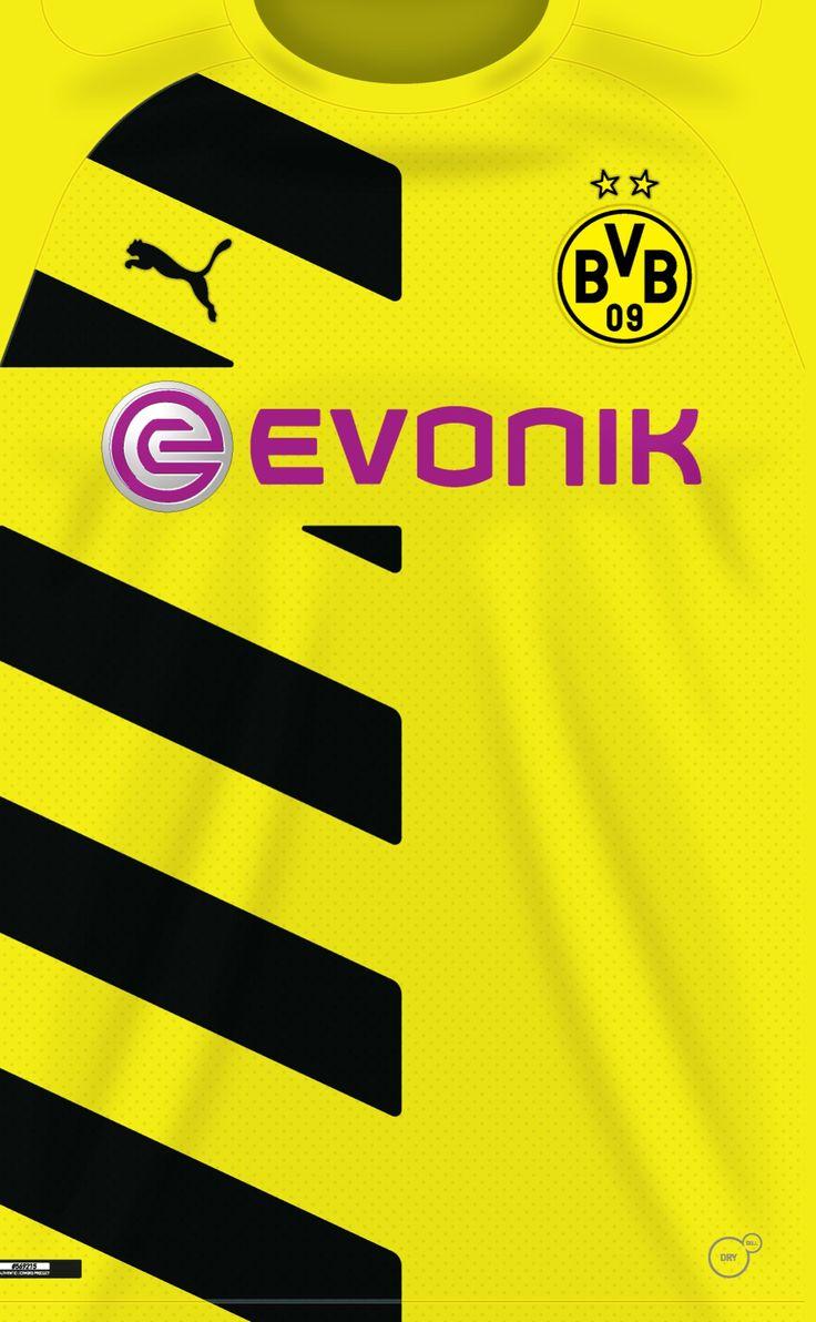 Borussia Dortmund 14-15 kit home