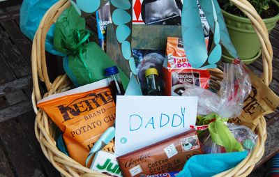 Father's Day gift basket - 15 Fathers Day Gifts That Kids Can Make I Fathers Day Homemade Gift Ideas - ParentMap