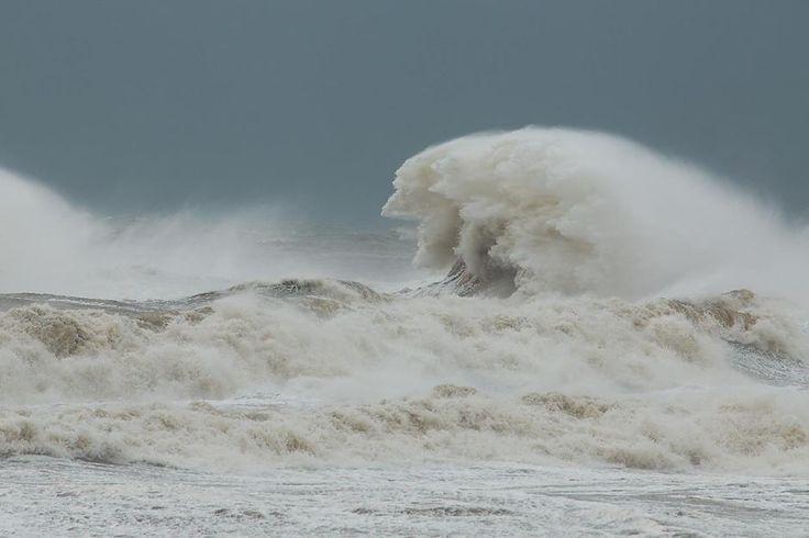 Stormy seas off Burnie