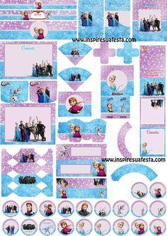 kit-frozen-gratuito http://inspiresuafesta.com/frozen-kit-2-artes-personalizadas-gratuitas/