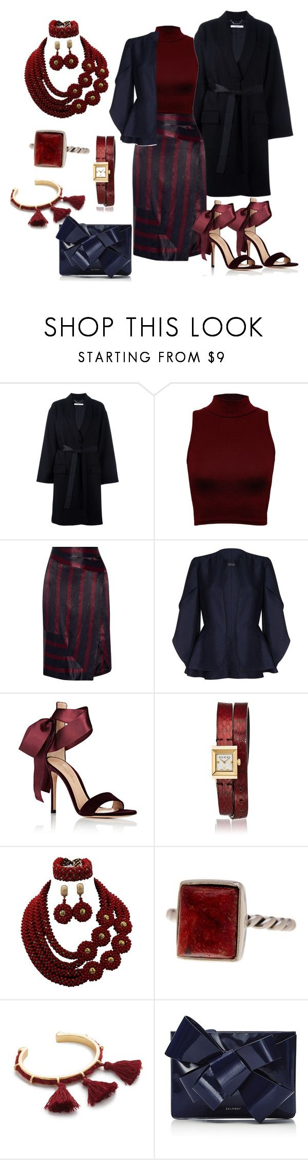 """Untitled #2505"" by deirdre35 on Polyvore featuring Givenchy, WearAll, By Malene Birger, Safiyaa, Gianvito Rossi, Gucci, Exex Design, Madewell and Delpozo"