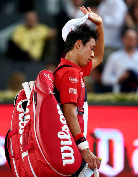 Kei Nishikori Photos - Mutua Madrid Open - Day Seven - Zimbio
