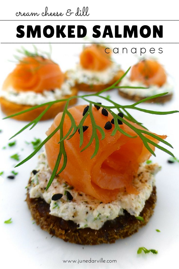 Best 25 salmon canapes ideas on pinterest smoked salmon for Cheese canape ideas