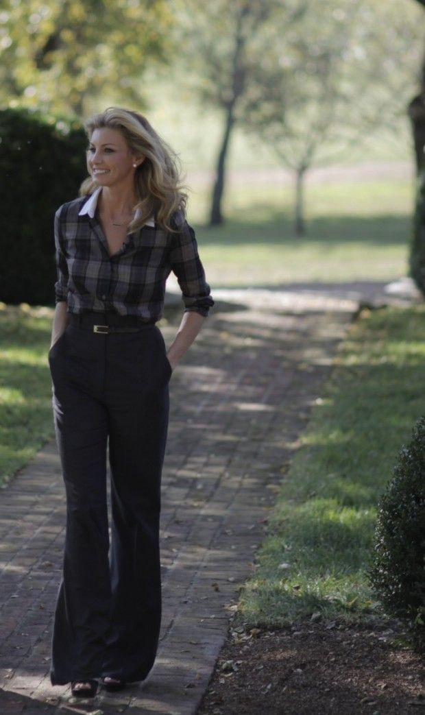 FACES of the South: Faith Hill posted by Elizabeth and Liza on Jan 27, 2013 via Style Blueprint