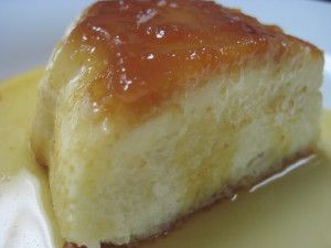 This lovely little dessert is a Brazilian delicacy called pudim de pão- Everyone loves a great bread pudding, but I bet you've never had a bread pudding quite like this one before. This delicious bread pudding has a lighter and more uniform texture than the traditional bread puddings, and once you taste it, you'll agree that it's more like a cross between a bread pudding and a flan. Strangely enough, it is even reminiscent of the decadent tres leche cake.