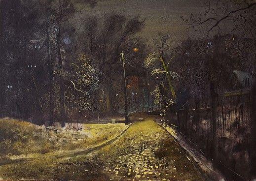 Картина Night street - Художник Danil Shurykin