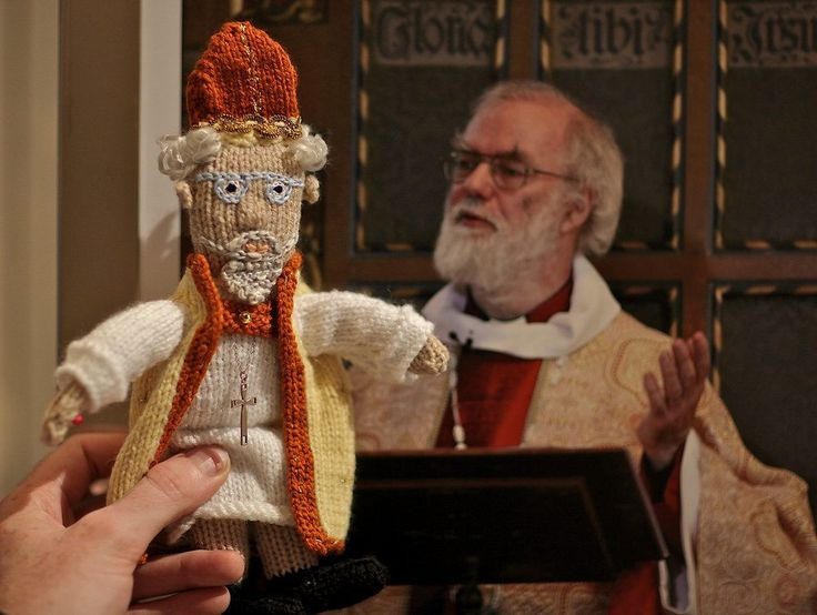 Knit Your Own Archbishop Rowan Williams – Such A Great Likeness!