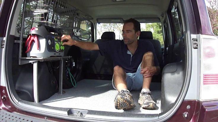 DIY Car Camper Camping Conversion - Scion XB, Van, RV