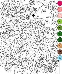 Okul öncesi Sayı Boyama Sayfaları Materyal Pinterest Coloring