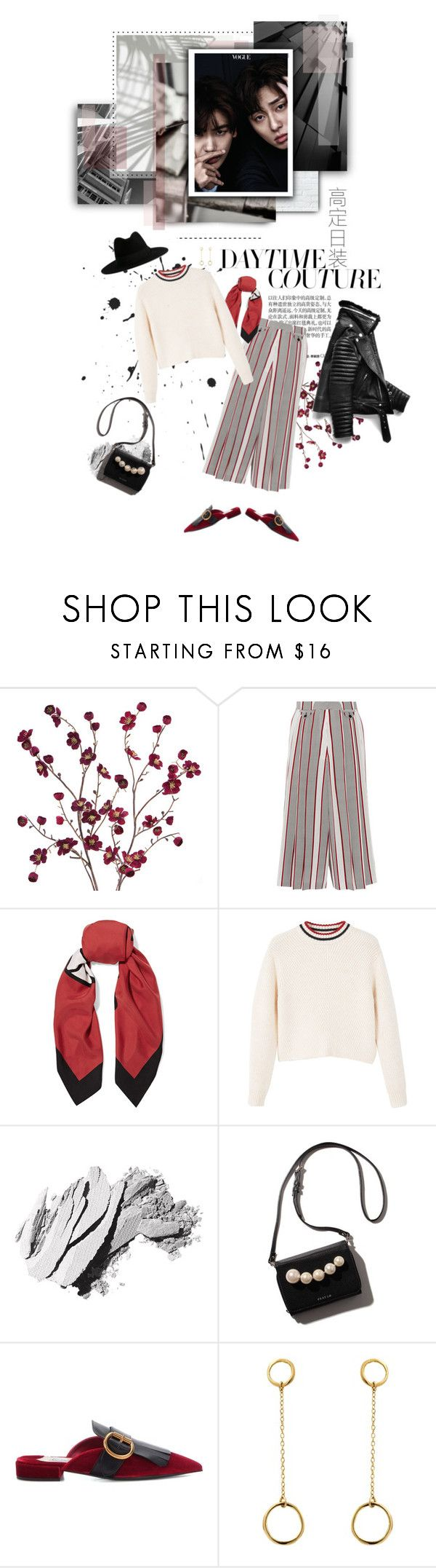 """""""It's Definitely You"""" by anny-bcc ❤ liked on Polyvore featuring Cost Plus World Market, Victoria Beckham, Gucci, MANGO, Bobbi Brown Cosmetics, Prada, Satomi Kawakita and Yves Saint Laurent"""