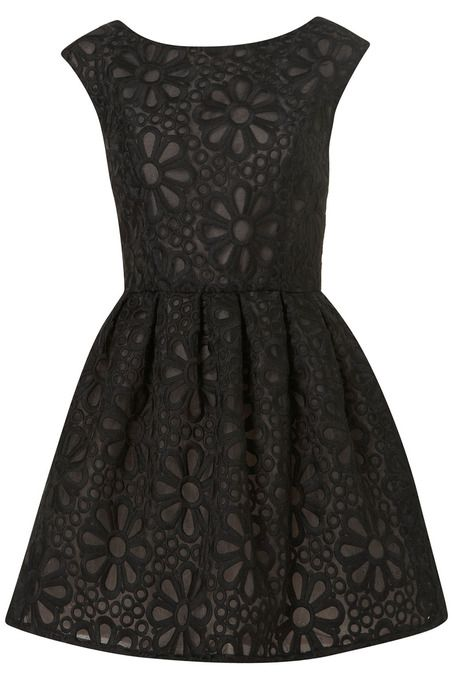 LBD EMBROIDERED DRESS    $130.00