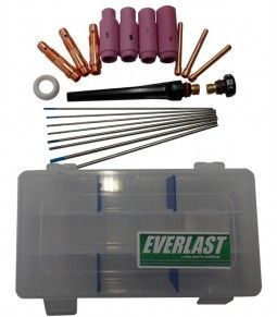 Everlast Welders is a manufacturer and supplier of best quality welding equipments in Canada, offers WP 17/18/26 TIG KIT at just CA$55.00.  #TIGConsumables