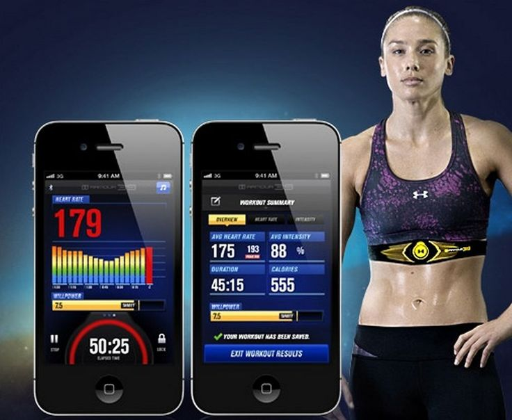 Look out Nike Fuel band, UnderArmour's fitness strap measures WILLPower!