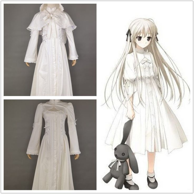 In solitude Yosuga no Sora Sora Kasugano Costume Dress Suit for Girls Halloween Cosplay Costumes