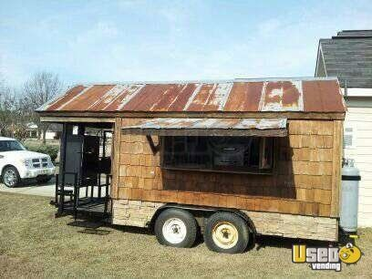 For Sale Used 2012 BBQ Concession Trailer With Smoker Porch In Florida | Mobile  Kitchen : It Is In Good Condition. Itu0027s 8u0027 X 20u0027 Trailer With Smoker Porch.